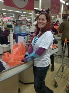 Volunteer Deb Burrell