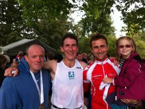 Ralph Hydes, Tim Muir And Rob Brown