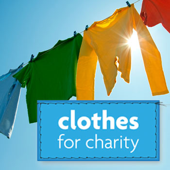 Donate your old clothes