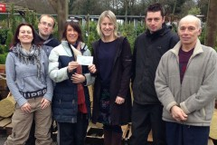 Christmas Tree Sale Makes £1,250!