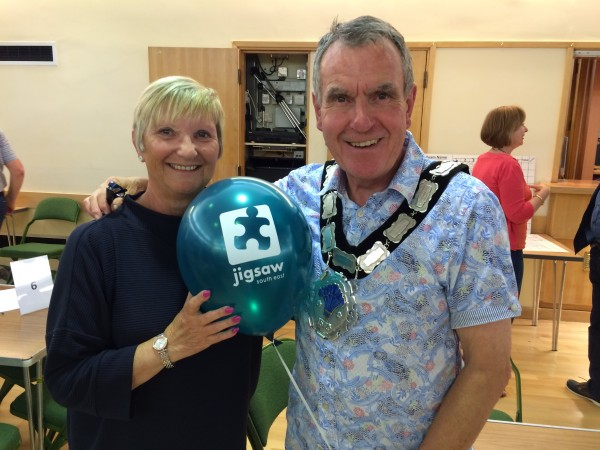 East Grinstead's Town Mayor Cllr Bob Mainstone With Mayoress Mrs Cllr Christine Mainstone