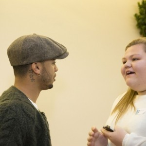 2 Hannah and Aston Merrygold CREDIT Andy Cracknell. ThePhotographer.London
