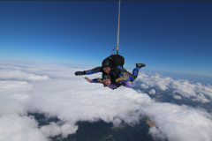 Charity Worker's Skydive For Bereaved Children