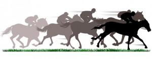 horse racing banner