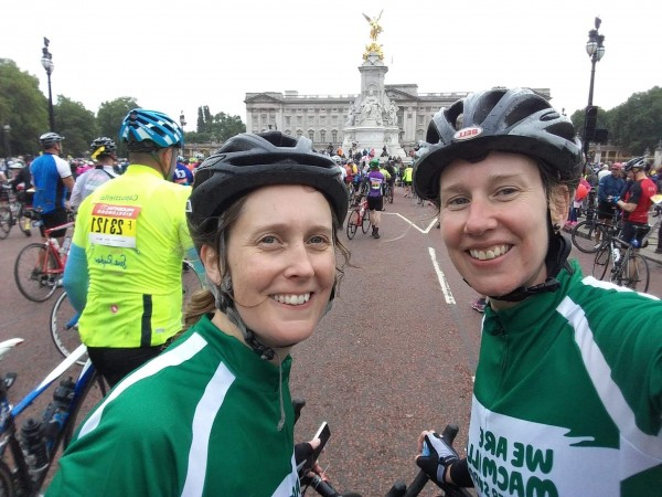 Sisters' 100-mile Bike Ride For Friend