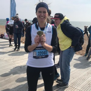 Jigsaw's #FabFour Finish The Brighton Marathon