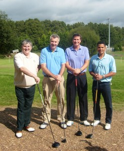 Top Footballer Joins UBM Charity Golf Day