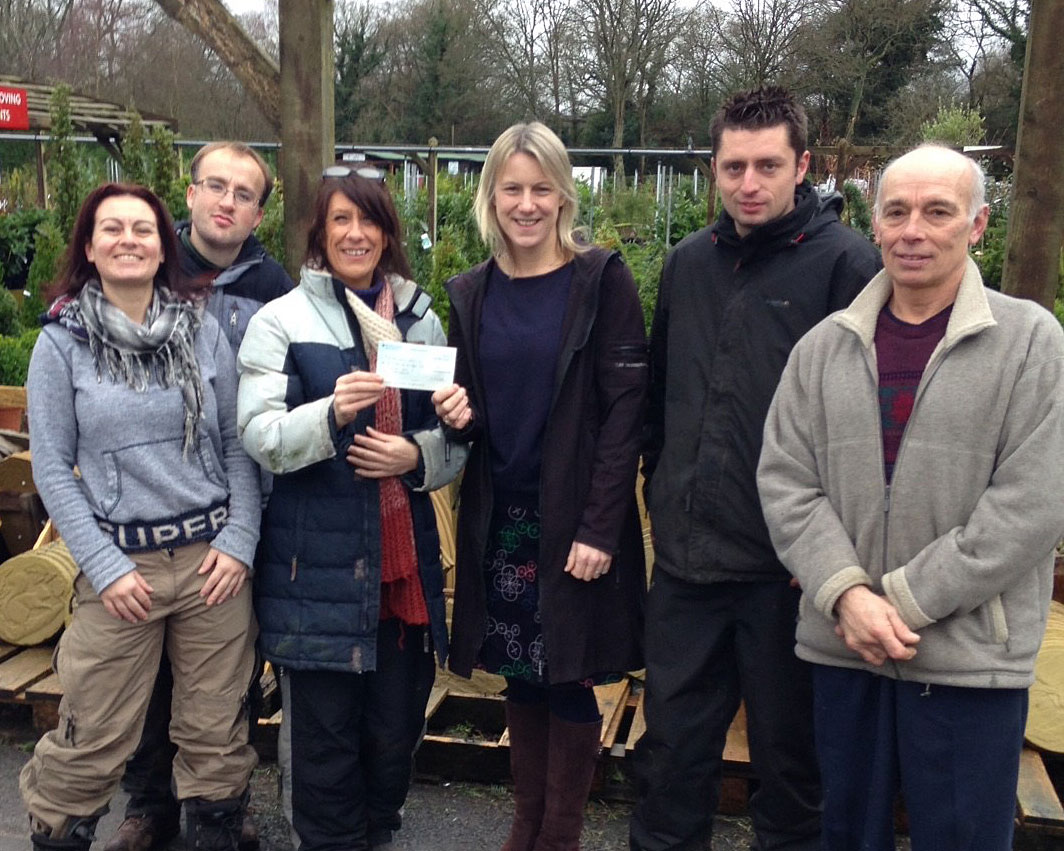 Christmas Tree Sale Makes £1,250!