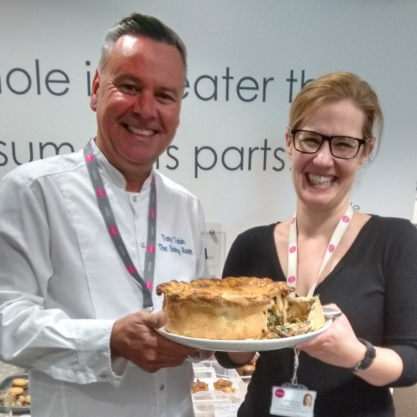 Celebrity Chef Judges Firm's Charity Bake Off