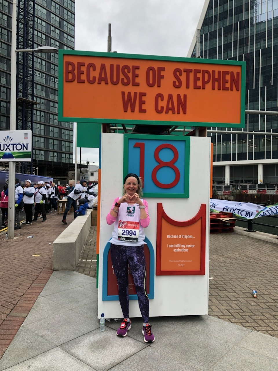 Gail Honours Murdered Teen Stephen Lawrence And Raises £1K For Jigsaw At The London Marathon