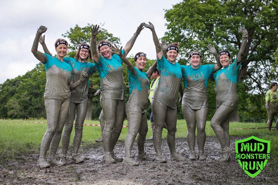 Mudtastic Effort From Jigsaw (South East) Staff And Friends