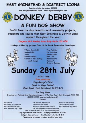 Join Jigsaw (South East) At The East Grinstead Donkey Derby