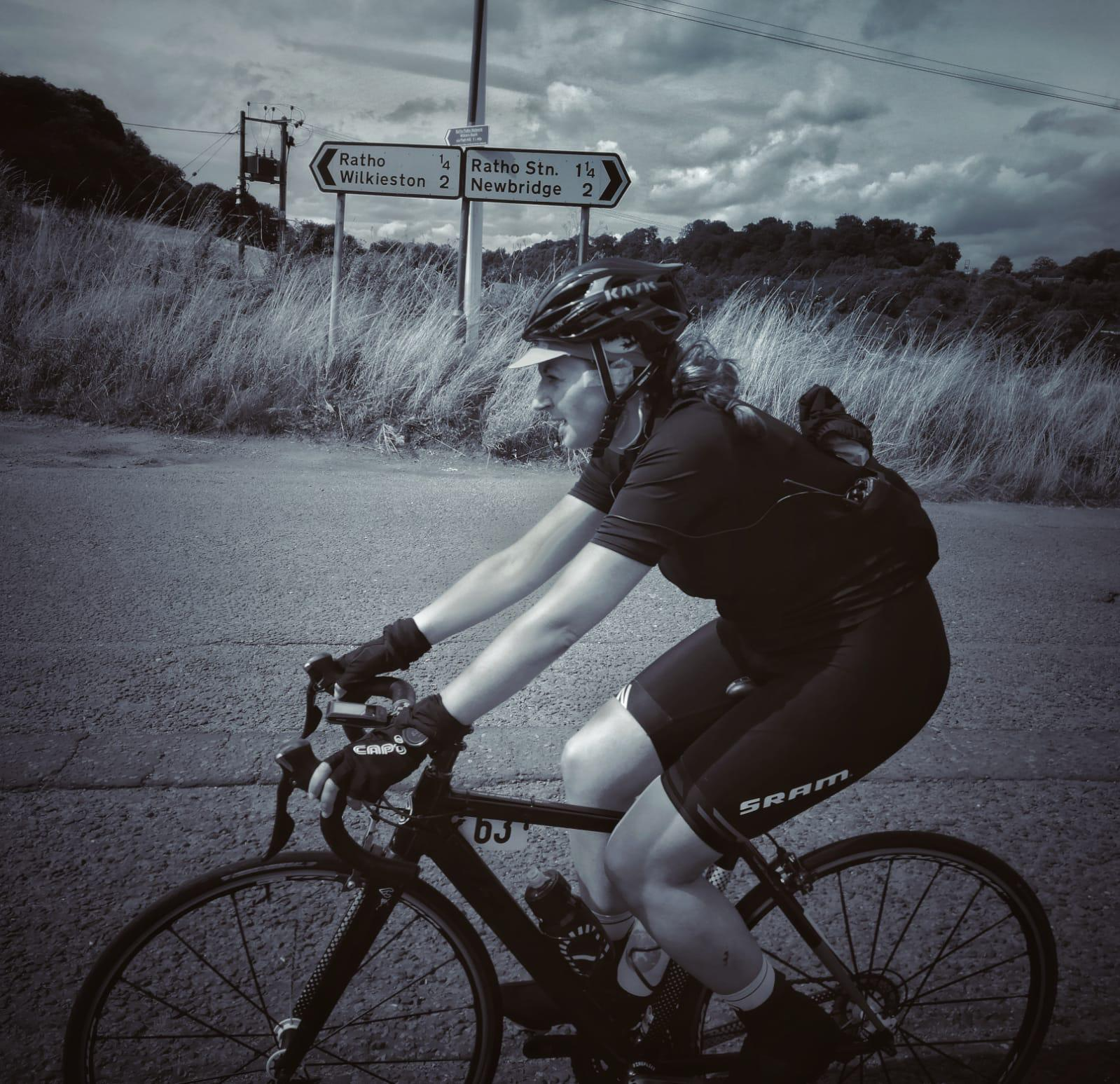 """Numb Feet, Numb Fingers"" Read Top Kat's Day 3&4 Blog As She Cycles JOGLE"