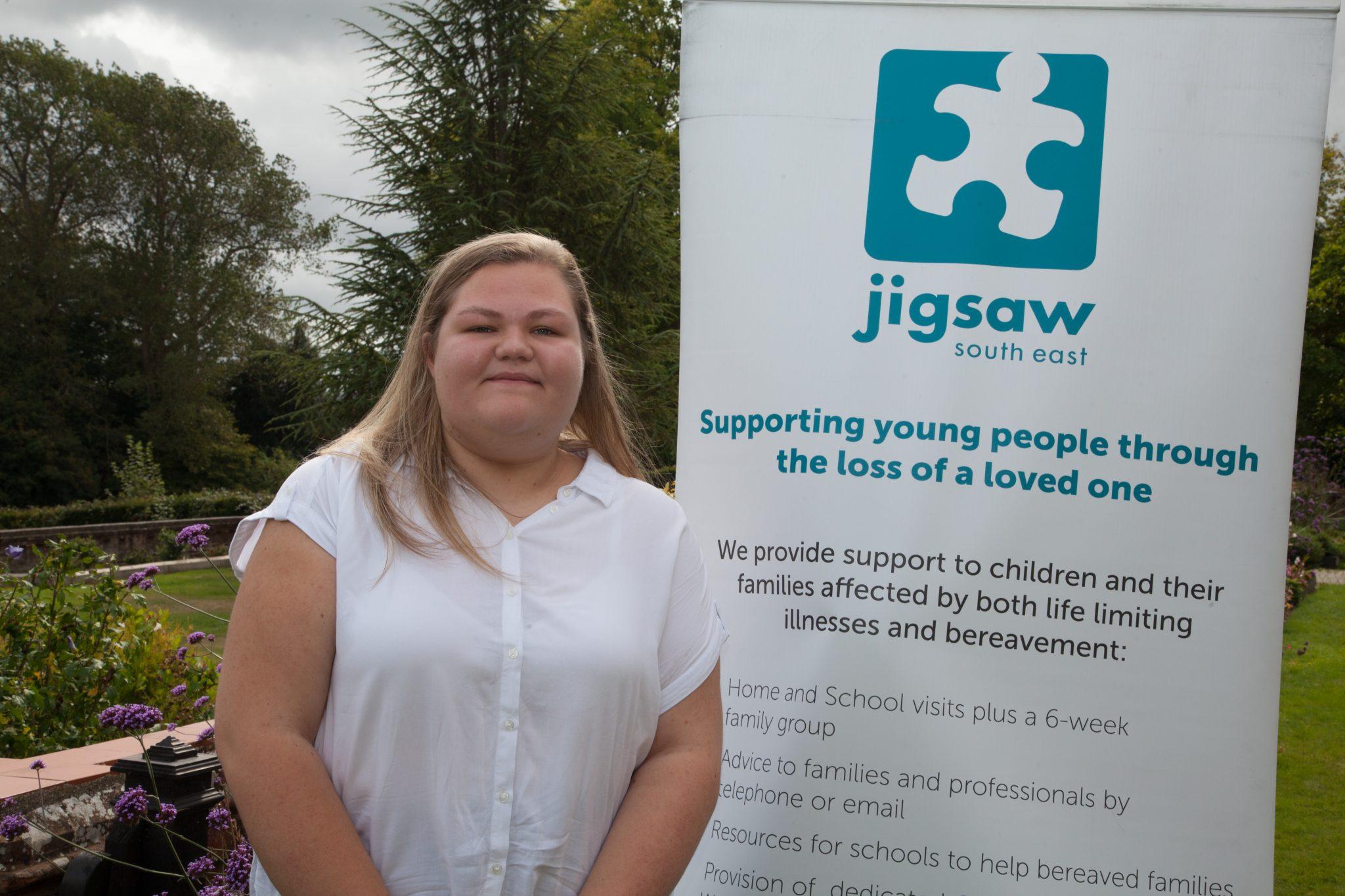 Celebrating Jigsaw (South East) Volunteers – Meet Young Ambassador Hannah Romaine