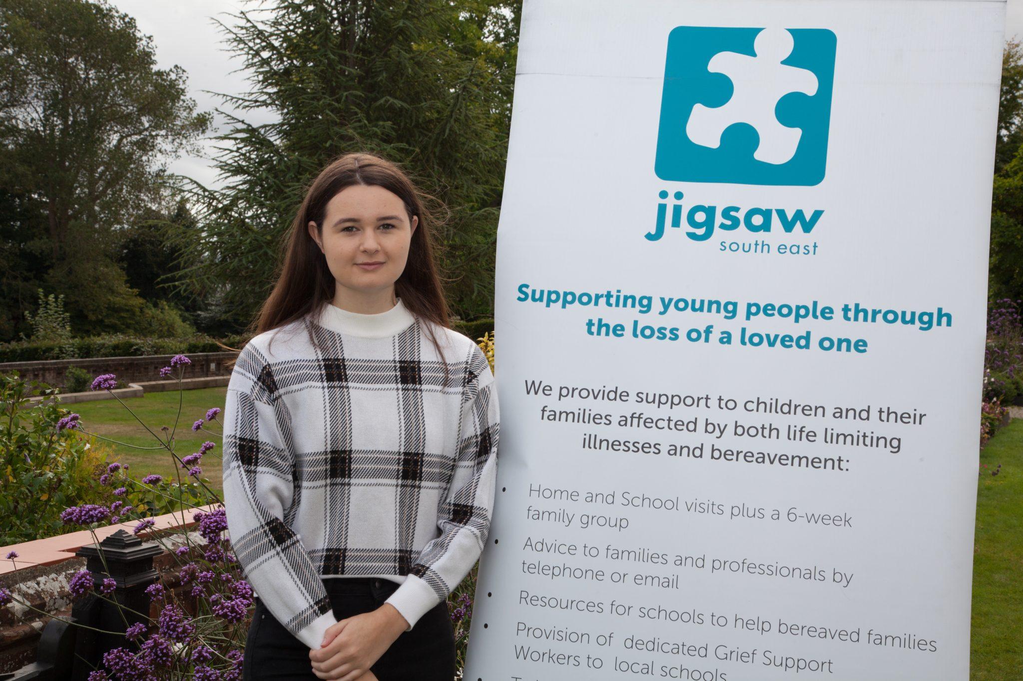 Celebrating Jigsaw (South East) Volunteers – Meet Young Ambassador Molly Humphreys