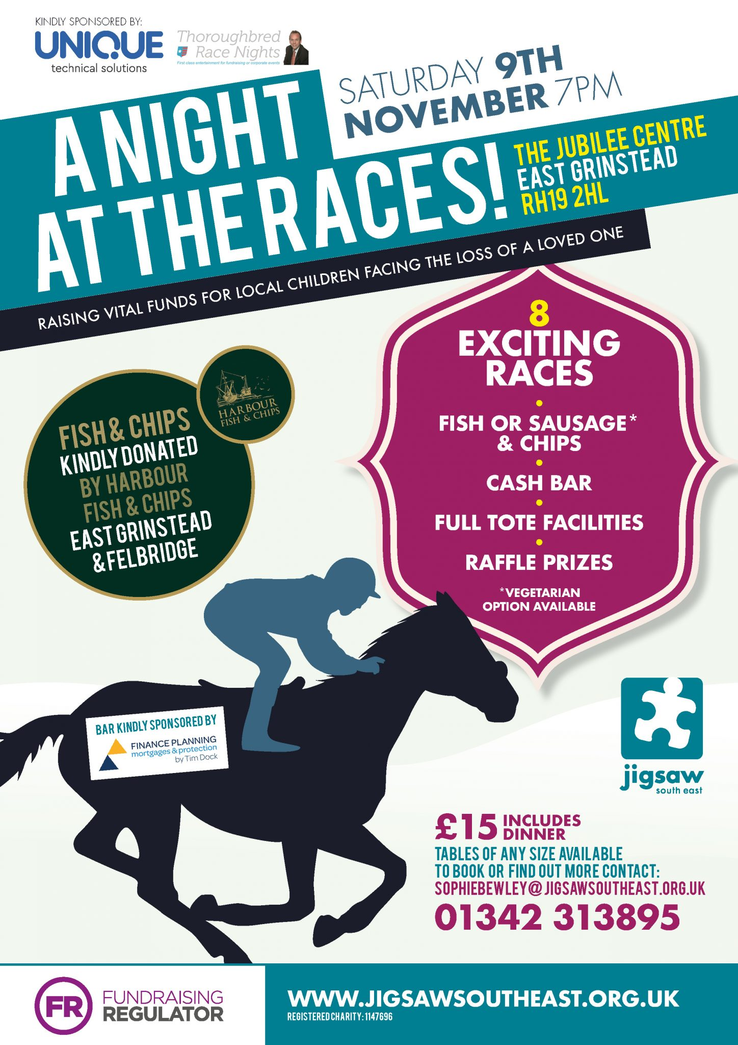 Gee-up For A Night At The Races To Help Bereaved Children