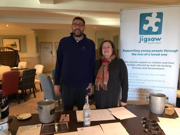 Hever Golfers Above Par Fundraising For Jigsaw (South East)