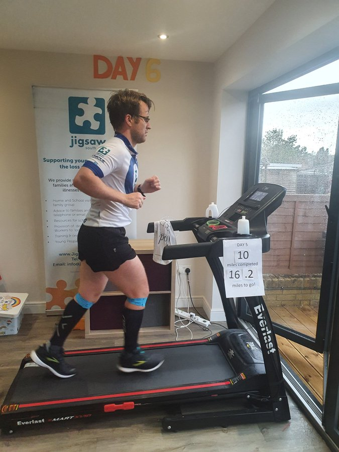 Day 6, Marathon 6 Of Doug's Epic Challenge For Jigsaw (South East)
