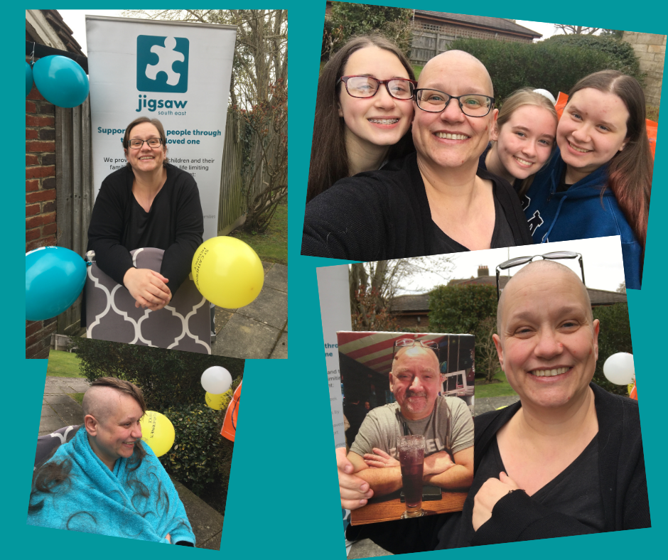 Wendy Raises £705 For Jigsaw After 'braving The Shave' In Memory Of Husband Ken